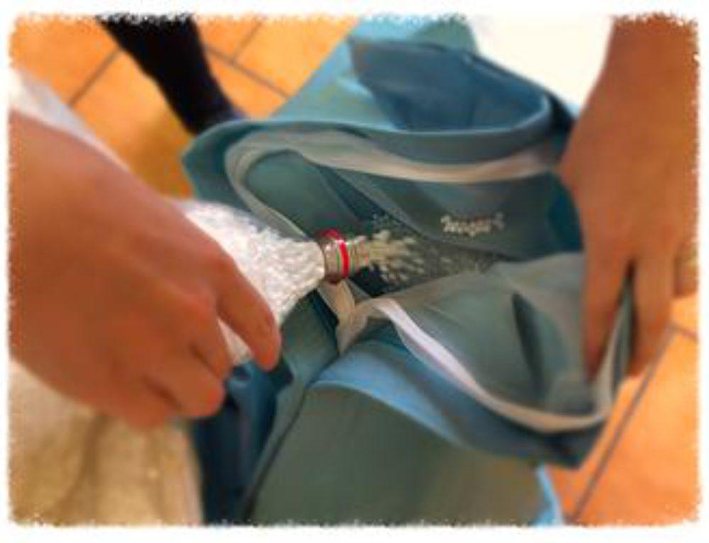 Ako naplniť sedací vak za menej ako 5 minút – video